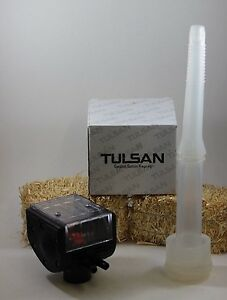Clear Pulsator For Milking Machine And 1 Silicone Liner Combo Cow By Tulsan