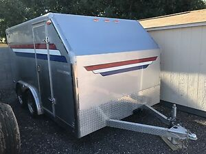 2000 Braco Enclosed 14 Low Profile Trailer