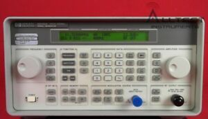 Hp agilent 8648a 1e5 Synthesized Signal Generator 100khz To 1000mhz With Opt