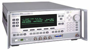 Agilent 83622l 2 To 20ghz Synthesized Signal Generator