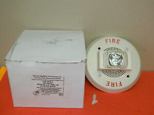 Siemens S hp mcs c Fire Alarm Speaker With Strobe White Pn 500 699739
