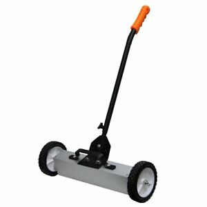 Grip 18 Magnetic Floor Roller Sweeper Telescoping Handle Capacity 53418