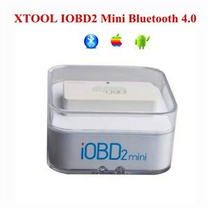 Xtool Iobd2 Mini Bluetooth 4 0 Obd2 Eobd Scanner Diagnostic Tool For Ios Android
