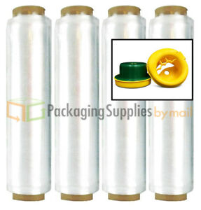Lot Of 320 Rolls Clear Pre stretch Hand Wrap 13 X 1476 12 Mic Hand Saver