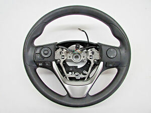 2014 Toyota Corolla Steering Wheel Black Gs131 14330 Oem 14 15 16