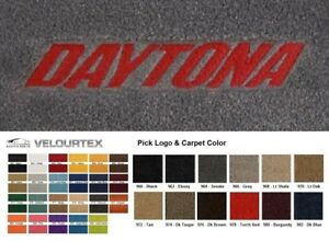 Lloyd Mats Dodge Ram 1500 Daytona Embroidered Velourtex Front Floor Mats
