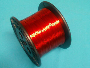 Magnet Wire 22 Awg Gauge Enameled Copper 5lb 155c 2500ft Coil Winding