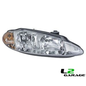 Fits Dodge 98 01 Intrepid Headlight Head Lamp Assembly Rh Right Passenger Side