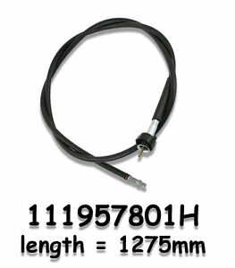 Vw Type 1 Bug 1953 1957 Oval Window And Thing Speedometer Cable Kit