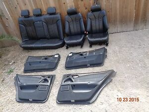 Mercedes Benz W210 E55 Amg Sport Leather Heated Seat E430 E320 E420 E300 E240