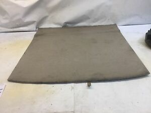 01 03 Toyota Highlander Trunk Cargo Floor Board Panel Cover Plate Oem D