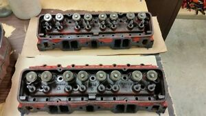 1961 283 327 Power Pack Cylinder Heads Corvette 3795896 Heads Date Match K171