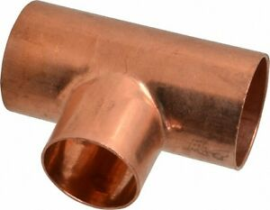 1 1 4 Plumbing Copper Fitting Sweat Tee Cxcxc lot Of 10