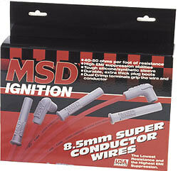 Msd Ignition 32819 Spark Plug Wire Set Ls1 Ls2 Ls3 Ls6 Ls7 Ls9 5 3 6 0 4 8