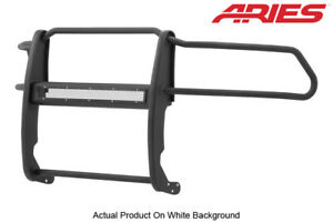 09 19 Dodge Ram 1500 Black Textured Front Grille Brush Guard Aries Pro Series