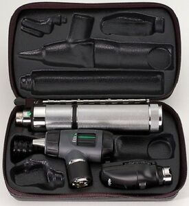 Welch Allyn Diagnostic Set Macroview Opthalmoscope 3 5v Coax W tht Ilm 97100 m