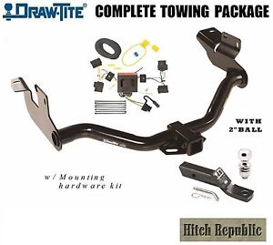 Class 3 Trailer Hitch Package 2 Ball For 2008 2012 Escape 05 11 Mariner 75751