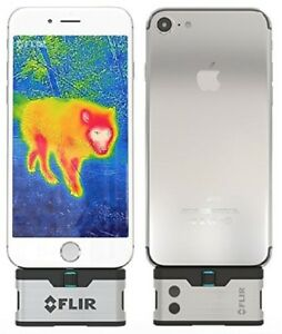 Flir One Thermal Imaging Camera For Iphone X 8 7 6 Free Powerbank Included