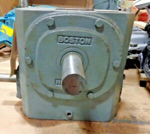 Boston Gear 732 30 g Right Angle Worm Gearbox Speed Reducer 700 Series