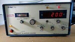 Met One Point 5 Particle Counter