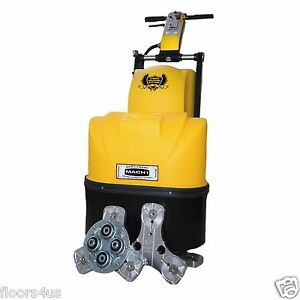 20 Concrete Polisher Grinder Surface Prep Machine 5 Horsepower Resurfacing