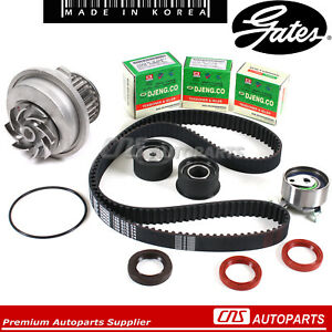 Fits 99 08 Suzuki Forenza Reno Optra Nubira Gates Htd Timing Belt Kit Water Pump