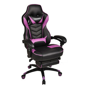 Ergonomic Mesh Back Office Racing Gaming Chair Adjustable Swivel Computer Seat