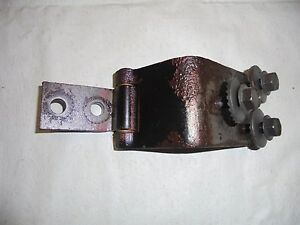 1962 Fairlane Front Upper Door Hinge With Bolts Driver