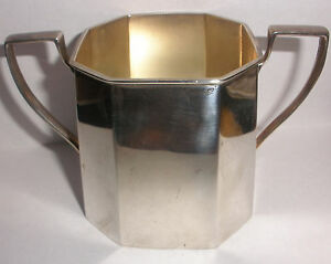 Rare Antique Art Deco Redlich Co Sterling Silver Two Handles Cup 8500