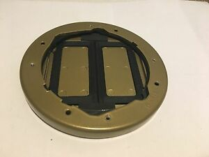 5 5 8 Floor Box Cover And Tile Flange Hubbell Wiring Device kellems S1tfcbrs