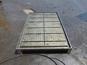 67 25 X 44 25 X 6 5 Steel Welding T slotted Table Cast Iron Layout Plate Jig