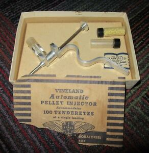 Vintage Vineland Automatic Pellet Tenderetes Injector Poultry Tenderizing Guc