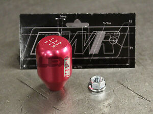 Blackworks Racing 10x1 25 Aluminum 6061 5 Speed Type R Style Shift Knob Pink