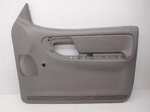 Genuine Oem Ford Ranger Right Gray Vinyl Door Trim Panel F57z 1023942 Aay
