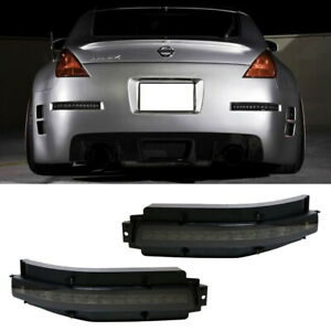 Smoked Lens All In One Led Turn Signal Backup Brake Lamp For 03 09 Nissan 350z
