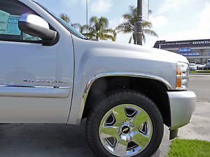 Tfp 3908 Polished Ss Chrome Fender Trim Molding For Chevy Silverado 3500 Hd