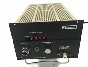 Lambda Model Lq 530 0 10v 14a Regulated Power Supply