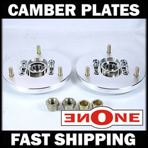 Mk1 Pillowball Front Camber Plates Strut Mount Bmw E60 For Coilover Kits