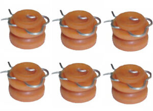 1959 1970 Fits Ford Lincoln Mercury Window Regulator Rollers 6pc Free Ship