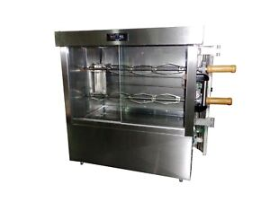 Commercial Rotisserie Oven 8 Chicken Capacity Electric 220v Fre2ve