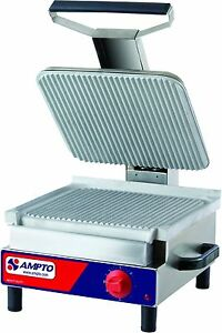 New Commercial Professional Panini Grill Press 9 Sandwiches Etl Listed Sase