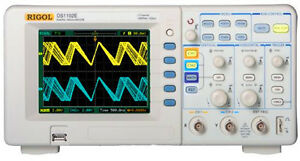 Rigol Ds1102e Usb Digital Oscilloscope 2 Analog Channels 100mhz 1gsa s 1m Memory