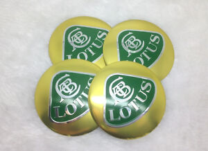 Olt56 4x Fit Most Lotus Wheel Caps Alloy Emblem Stickers 56mm New 3d