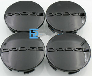 D63 Dodge Wheel Center Caps For Avenger Challenger Charger Dart Durango Journey