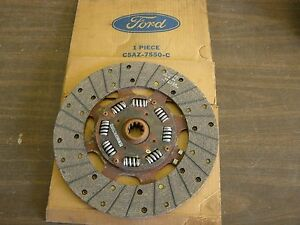 Nos Oem Ford 1966 1967 Fairlane Clutch Disc 390ci Galaxie 500 1963 1964 1965