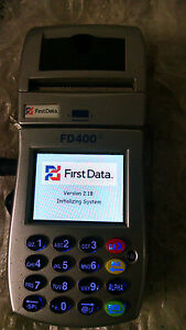 First Data Fd400ti Wireless Credit Card Machine Only