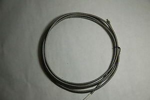 Long Ocean Optics Spectrometer Fiber Cable 400um W Metal Jacket Sma 905 Input