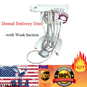 Dental Delivery Portable Unit weak Suction triplex Syringe ultrasonic Scaler Us