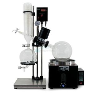New 110v 5l Rotary Evaporator Rotovap Re 501 180 c 1 Year Warranty