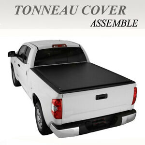 Lock Roll Up Soft Tonneau Cover Fit 2009 2018 Dodge Ram 1500 2500 3500 5 7ft Bed